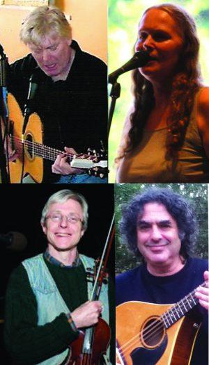 Celtic cafe, Ian Warpol, Sarah Underhill, T.G. Vanini, and Jon Garelick