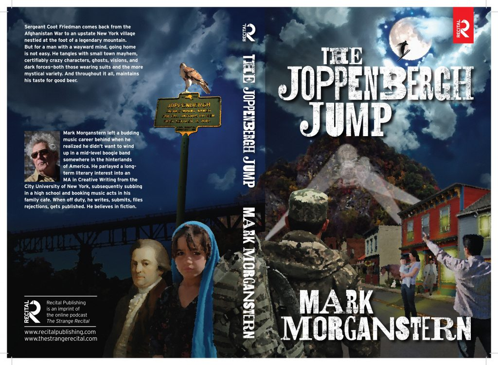 Book cover for The Joppenbergh Jump by author Mark Morganstern.